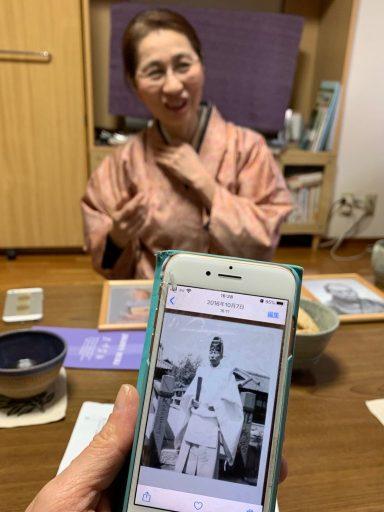 Akiko Sakai, Kyoto, Japan ©2020, Cyndie Burkhardt.