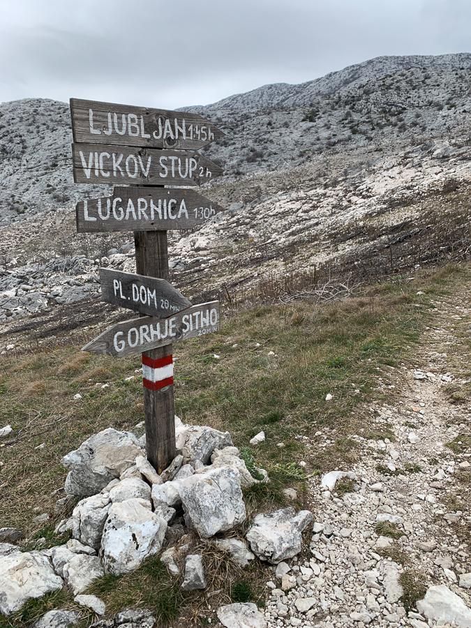 Mosor Mountain, Split, Croatia ©2020, Cyndie Burkhardt.