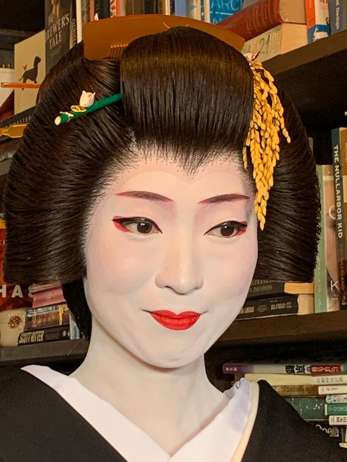Geisha, Kyoto, Japan, ©2020, Cyndie Burkhardt.