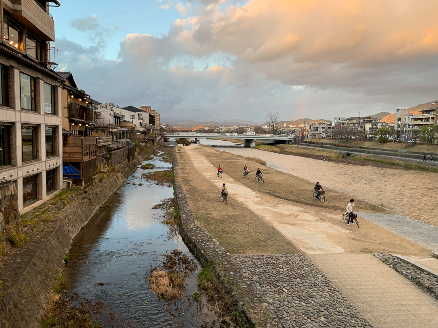 Landscape, Kyoto, Japan, ©2020, Cyndie Burkhardt.