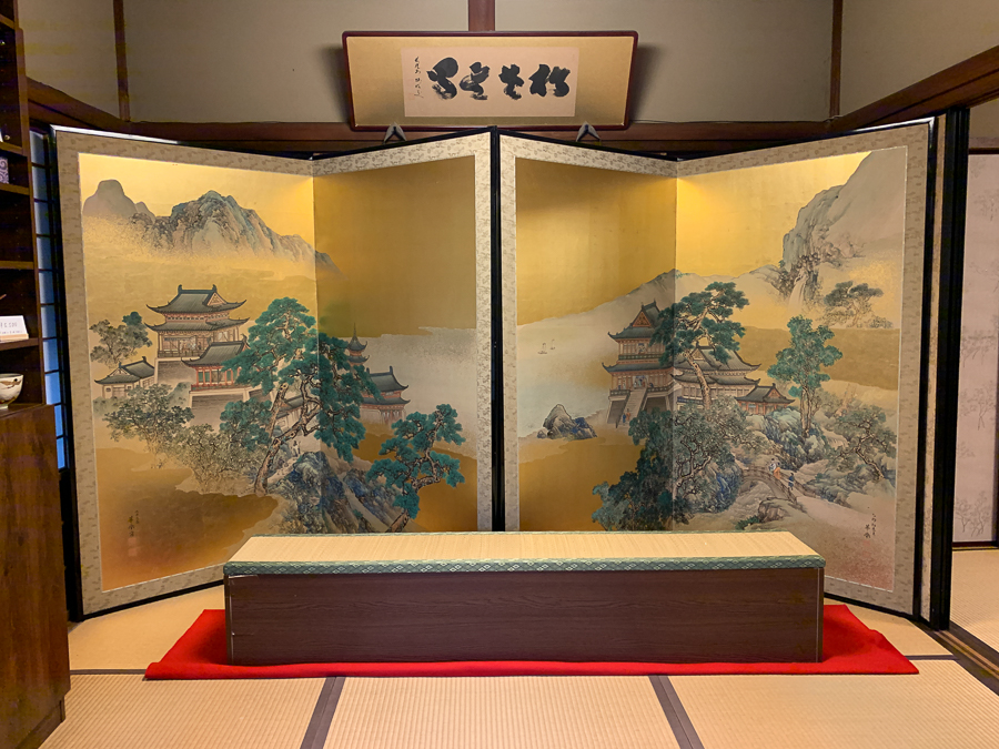Japanese Screen, Kyoto, Japan, ©2020, Cyndie Burkhardt.