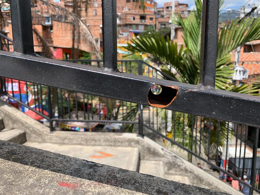 Comuna 13, Medellín, Colombia, ©2019, Cyndie Burkhardt.