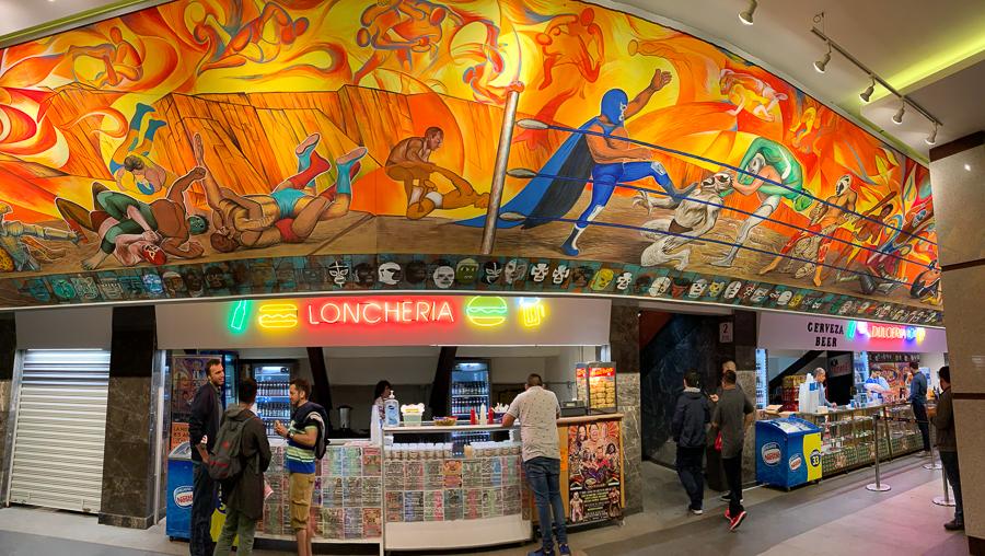 Loncheria, Arena Mexico, Mexico City, Mexico ©2019, Cyndie Burkhardt