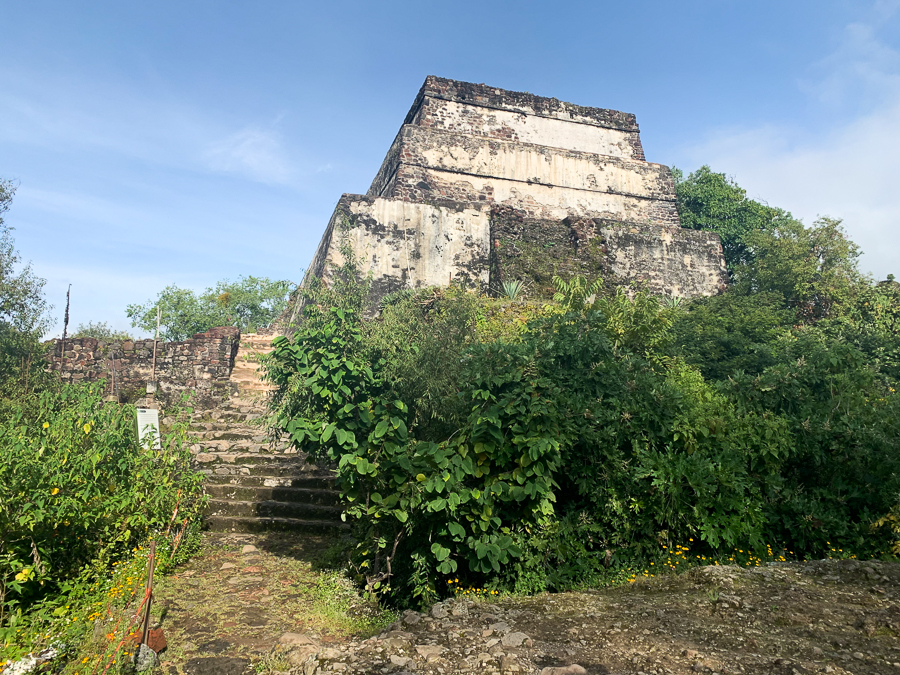 El Tepozteco Temple, Tepoztlan, Mexico ©2019, Cyndie Burkhardt