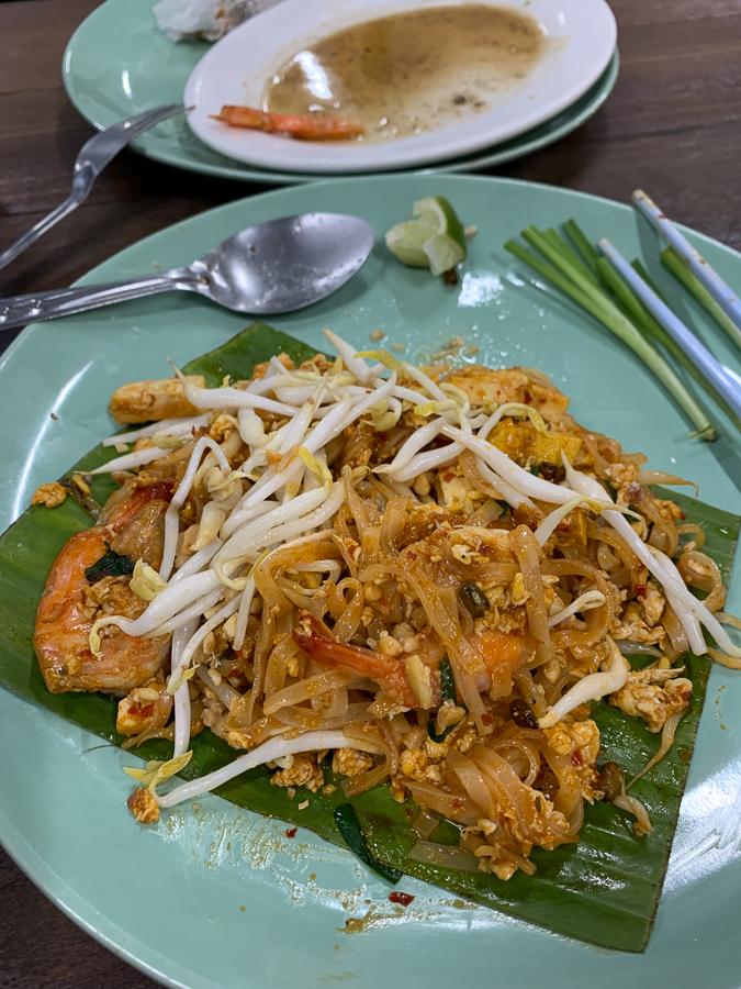 Pad Thai, Chiang Mai, Thailand ©2019 Cyndie Burkhardt.