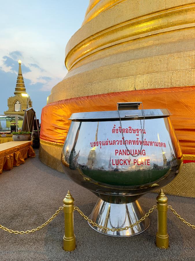 Golden Mountain, Bangkok, Thailand ©2019 Cyndie Burkhardt.