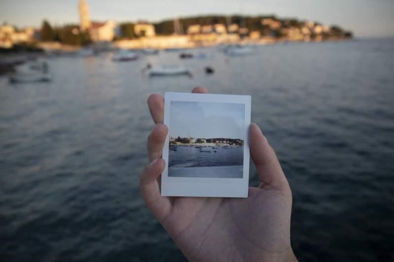 Photographie instannée à la mer
