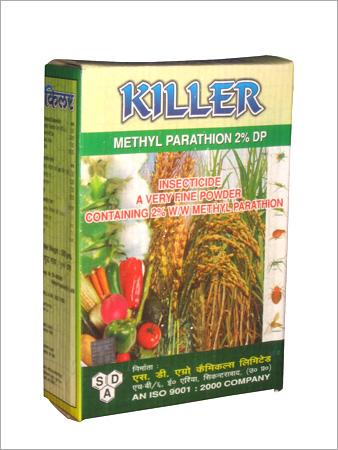 Chlorpyrifos Insecticide produced by S.D. Agro Chemicals of India.