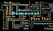 "The 42 parties that will contest the 2011 Thailand general election. Source: Bangkok Post Video ""The Thai election explained""."