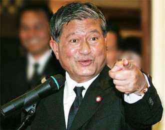 Thailand deputy prime minister Chalerm Yubamrung (เฉลิม อยู่บำรุง) - charged with securing Thaksin Shinawatra's (ทักษิณ ชินวัตร) return. Photo: Courtesy OKNation.net