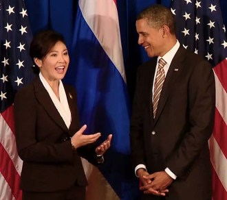 Thailand Prime Minister Yingluck Shinawatra will now not discuss Thailand's TPP membership application with US President Barack Obama during visit