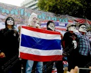 Thailand anti-amnesty bill protests August 4, 2013