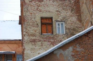 Дворик під номером 29 на вулиці Дорошенка у Львові