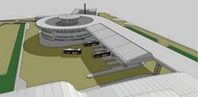 Проект нового Львівського міжнародного автобусного вокзалу біля аеропорта