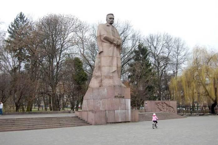 Пам'ятник Івану Франку у Львові