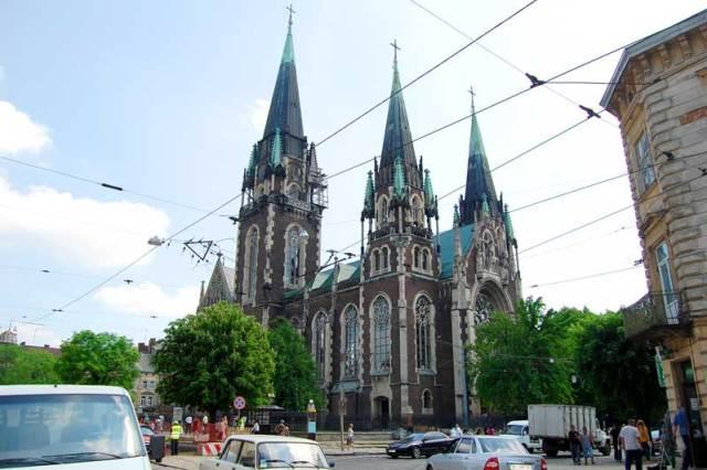 Храм Свв.Ольги і Єлизавети у Львові на вулиці Городоцькій