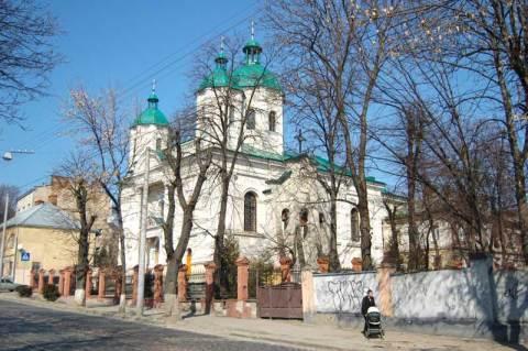 Храм святого апостола Андрея Первозванного у Львові на вулиці Шевченка, 66