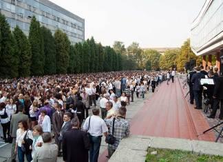 У «Львівській політехніці» першокурсників посвятили у студенти