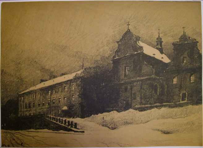 Kosciół św. Mikołaja i Uniwersytet Lwowski