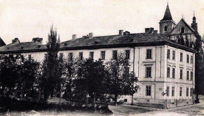 Німецька гімназія на Підвальній у Львові на початку ХХ століття