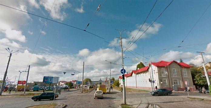 Місце де у знаходилась Тріумфальна арка для Франца Йосифа у Львові