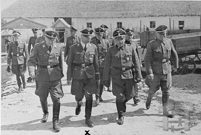 Приїзд Генріха Гіммлера до Янівського концтабору
