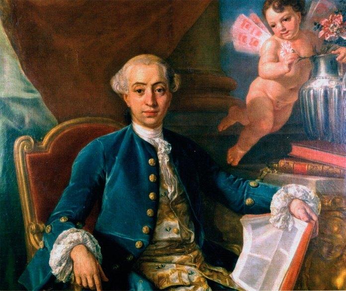 За припущеннями, портрет Джакомо Казанови, що приписується пензлю Франческо Нарічі