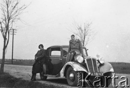 1940. Околиці Львова, дорога до Брюхович