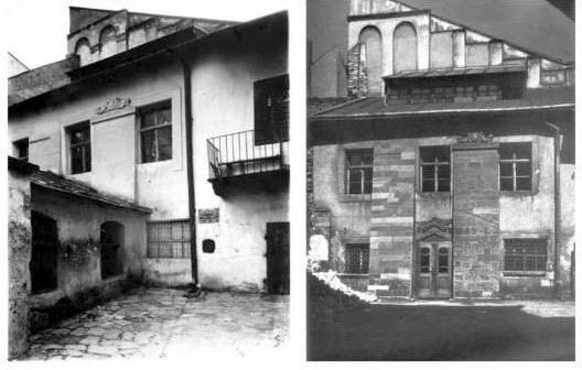 1919 (зліва), 1935 (справа)