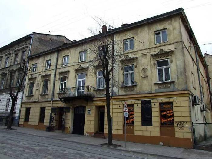 Будинок під номером 48 по вулиці Дорошенка у Львові
