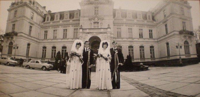 Палац Потоцьких у Львові, в якому колись знаходився Загс, фото 70-ті роки XX століття