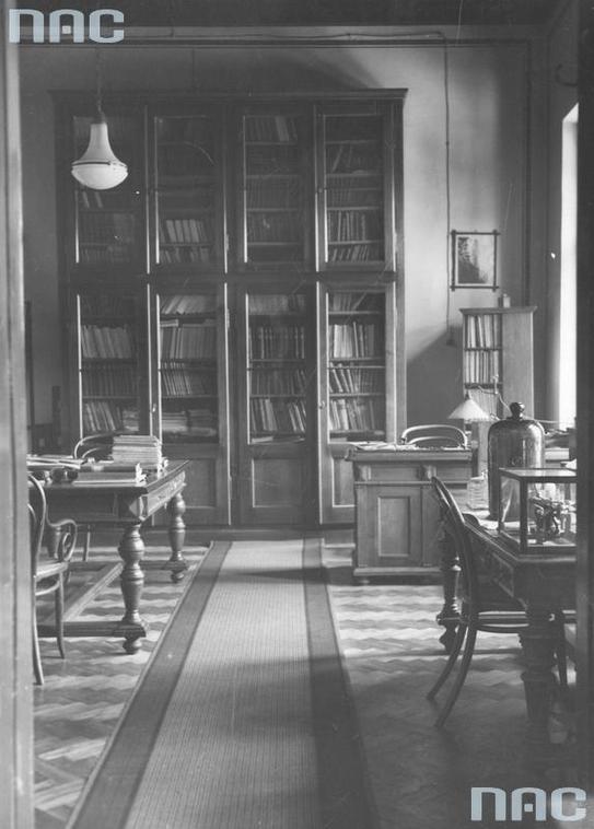 Рільничо-лісовий факультет, кабінет проф. Шимона Вердака, 1920-1939