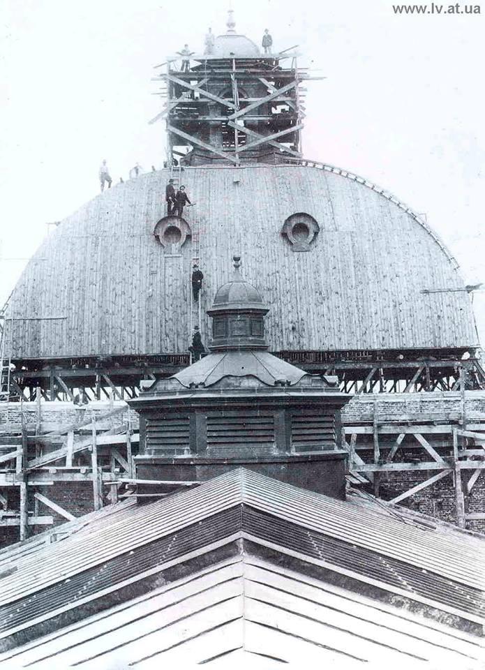 Процес будівництва Львівської Опери