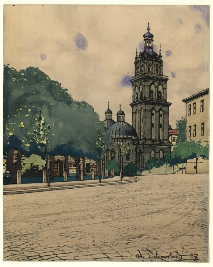 Волоська церква, 1907