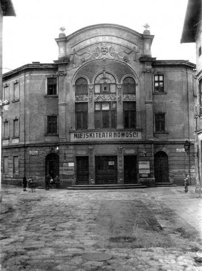 """Театр """" Колізей """" у пасажі Германів, фото 1910 року"""