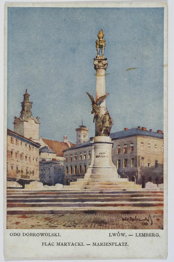 Пам'ятник Міцкевичу, 1910