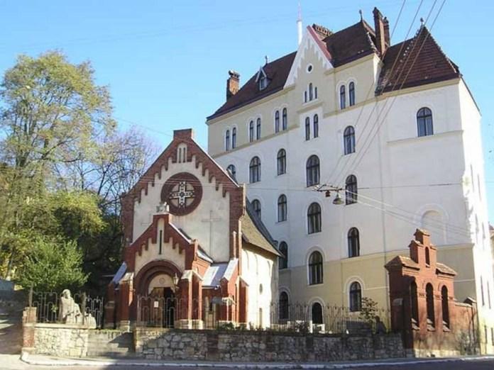 Костел Св. Івана Хрестителя, фото наших днів.