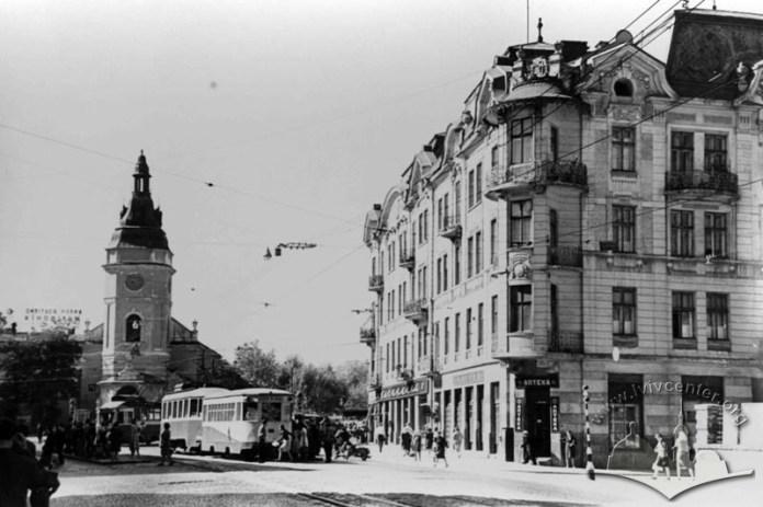Церква Св. Анни у Львові, фото 1965-1970 років