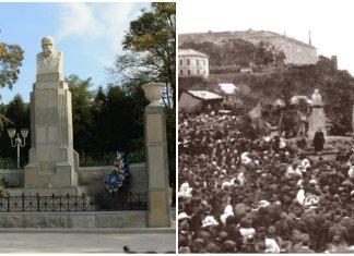Перший пам'ятник Тарасу Шевченку з'явився на Галичині