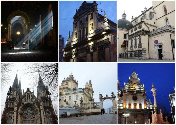 Топ-10 найвідоміших храмів Львова