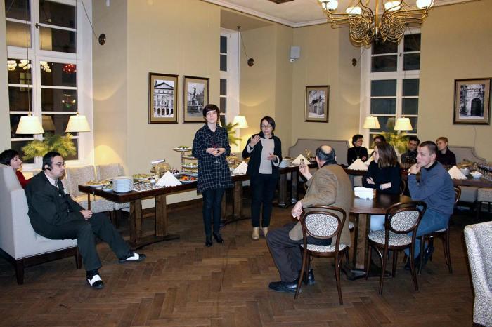 Офіційне відкриття ресторану «Ратуша» у Львові, 5 грудня 2015 року
