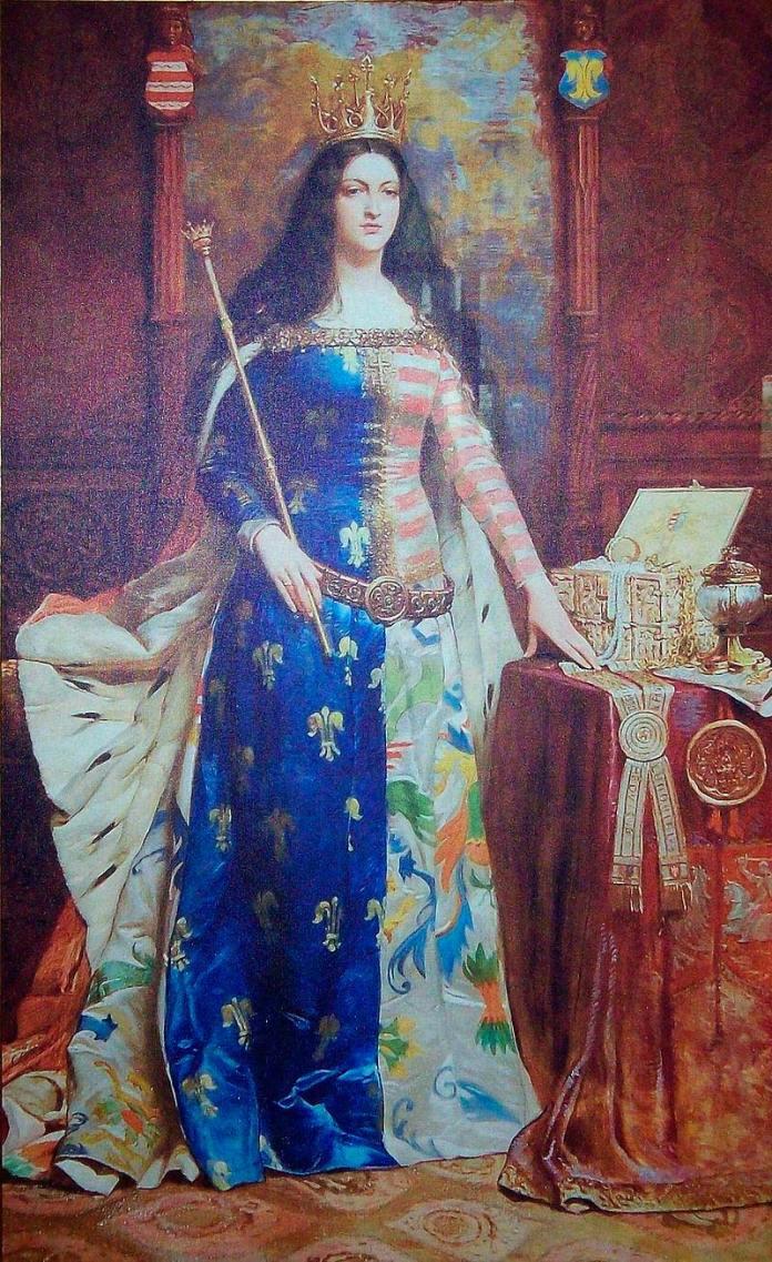 Король Польщі Ядвіґа Анжуйська