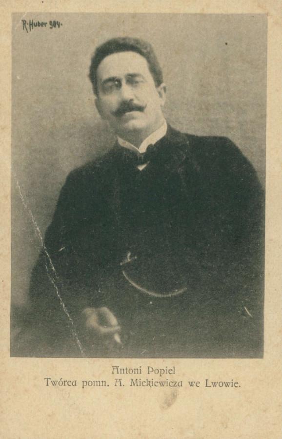 Антоній Сулима Попель ( 1865 - 1910 ), пам'ятна поштівка
