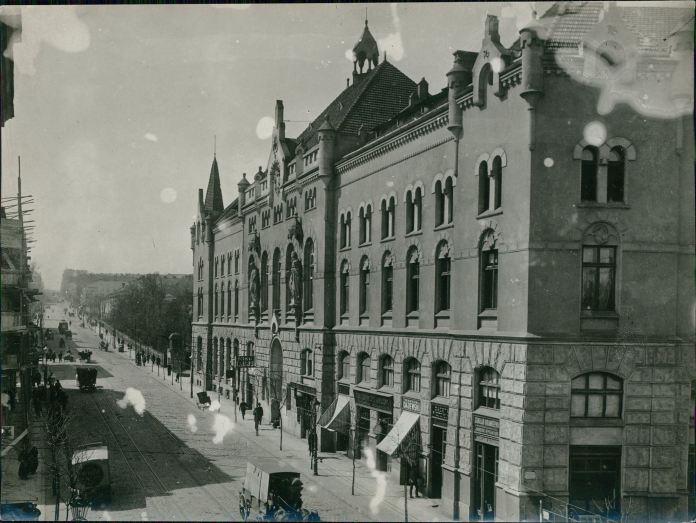Католицький дім у Львові. Фото Марека Мюнца, 1915 рік