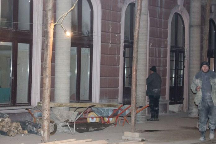 """Розбудова і реконструкція прилеглих до """" Гранд-готелю """" ділянок колишнього пасажу, 2015 рік"""