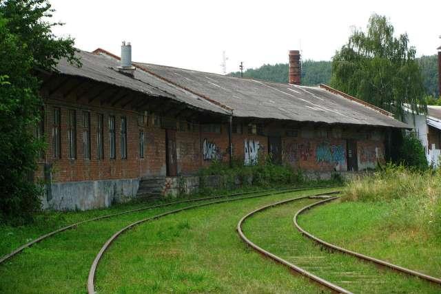 Рештки колії і станційні приміщення Личаківського вокзалу, фото наших днів