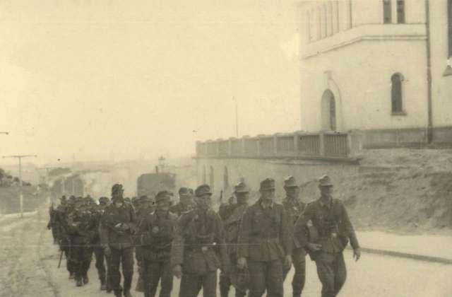Німецька піхота на Верхньому Личакові