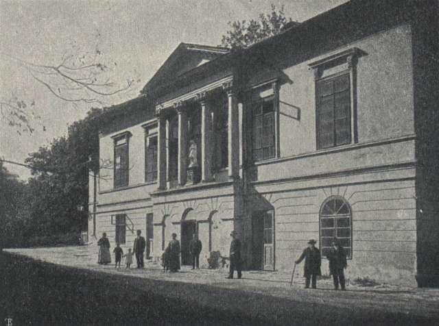 Будинок Єльського, фото 1906 року