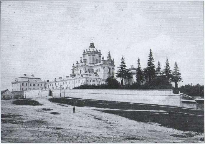 Фото Собору виконане ательє Йозефа Едера, між 1860 -1870 рр.