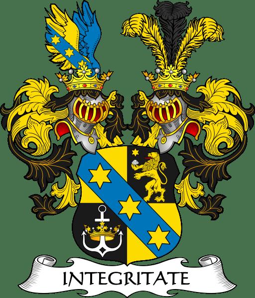 Родовий герб лицаря фон Бертеміліана (Ritter von Bertemilian)